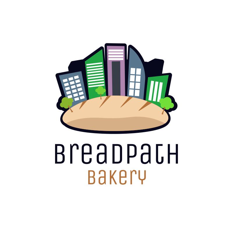 Bread and City Logo Design