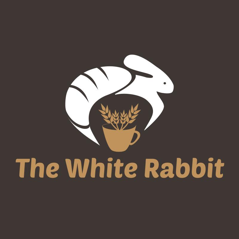 The White Rabbit Bakery Logo Design