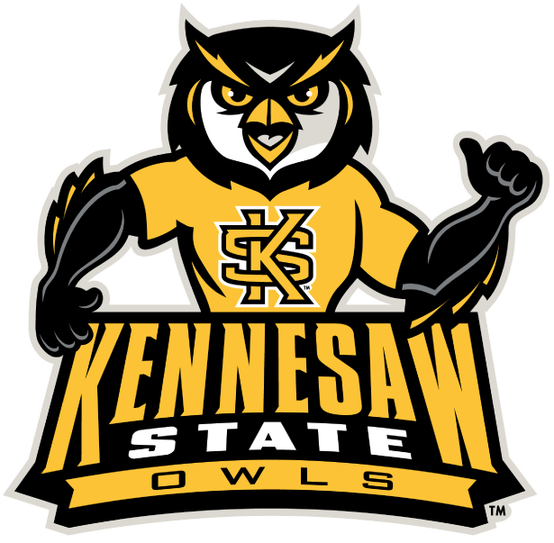 Kennersaw State Owls Logo Design