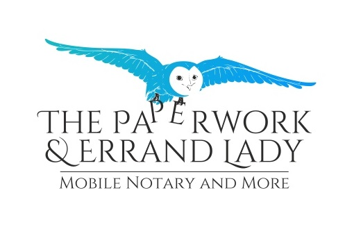 Owl Logo Design for The Paperwork & Errand Lady by [n]visionDesign