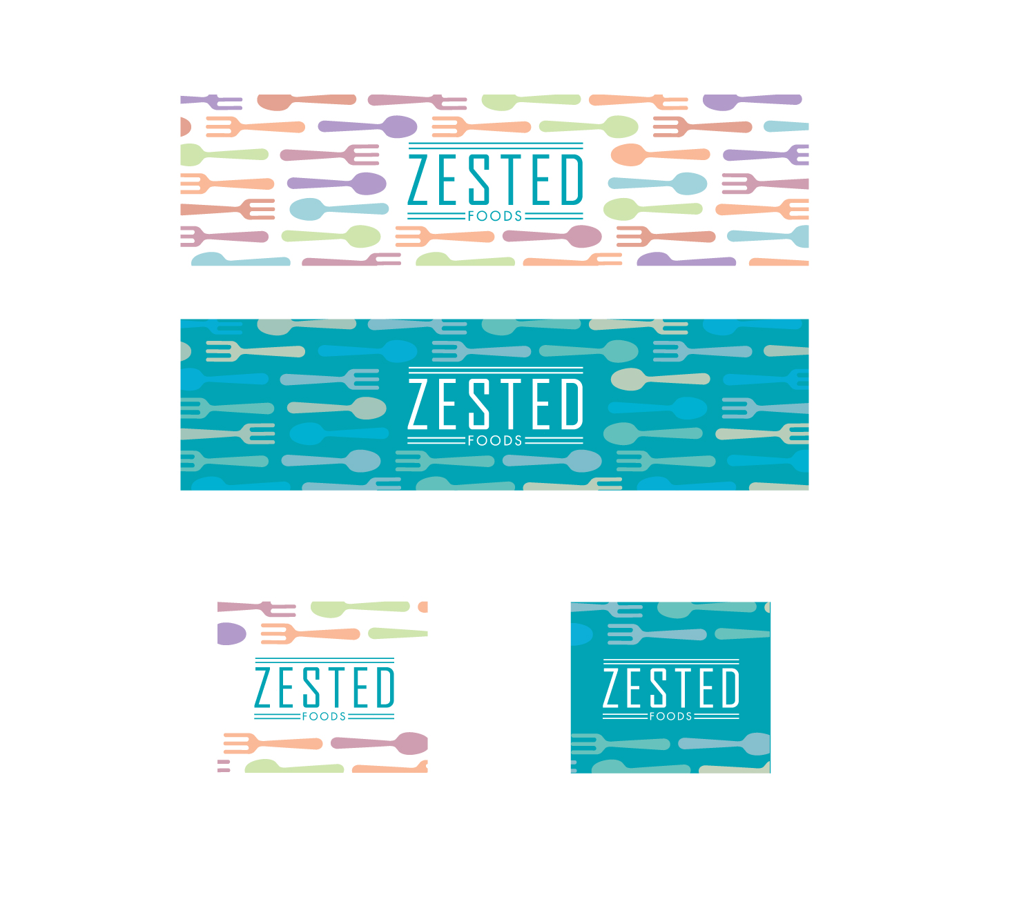Zested Foods YouTube Logo Design by Alien Cookie