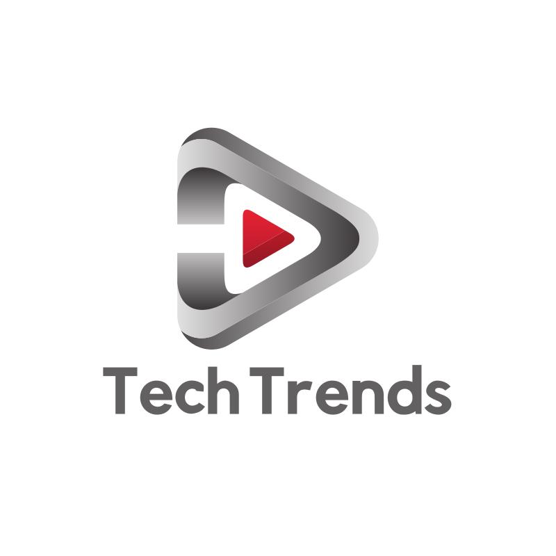Tech Trends YouTube Logo Design