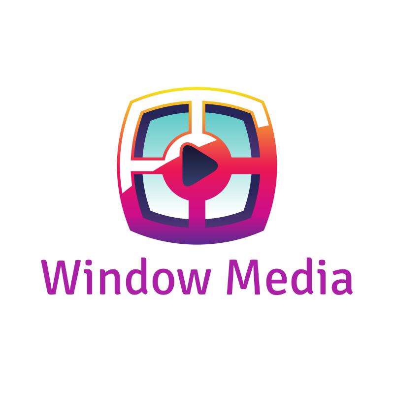 Window Media YouTube Logo Design