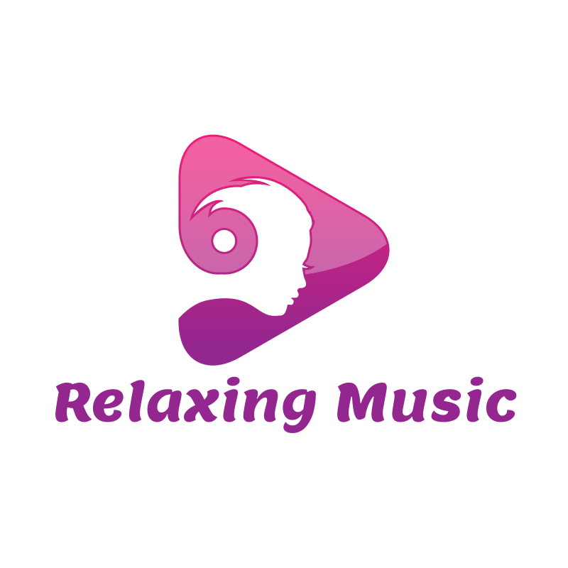 Relaxing Music YouTube Logo Design