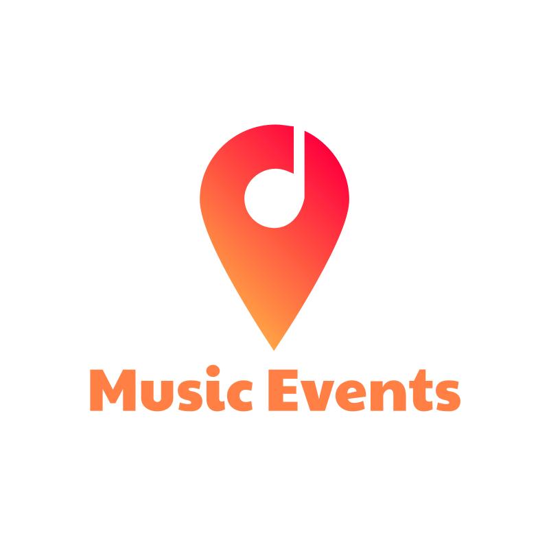 Music Events YouTube Logo Design