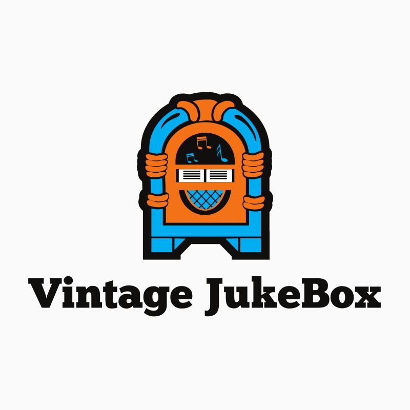 Vintage JukeBox YouTube Logo Design