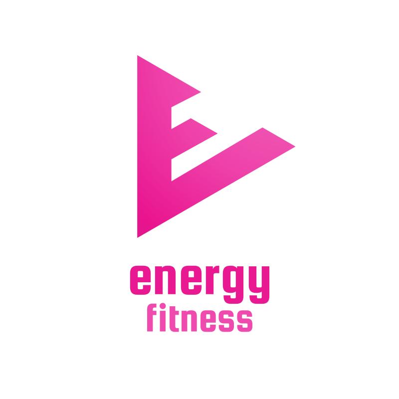 Energy Fitness YouTube Logo Design