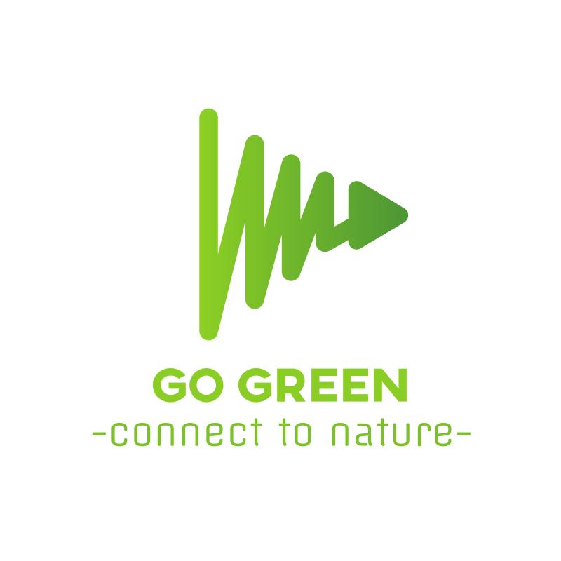 Go Green YouTube Logo Design
