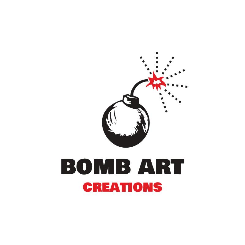 Bomb Art Creations YouTube Logo Design