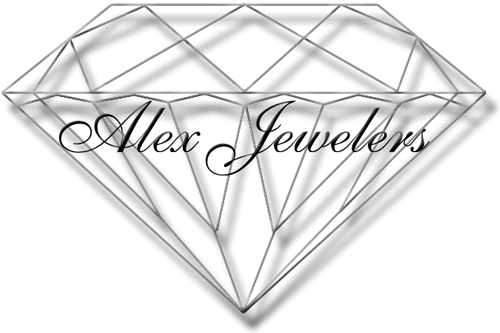 Alex Jewelers Logo Design