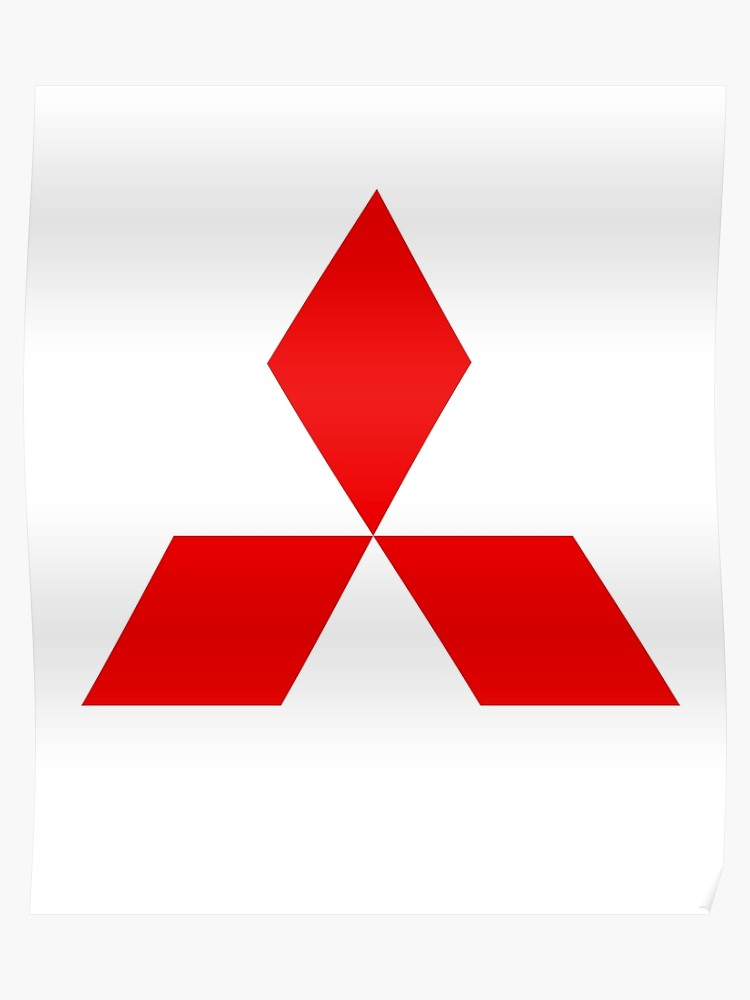 Mitsubishi Diamond Logo Design