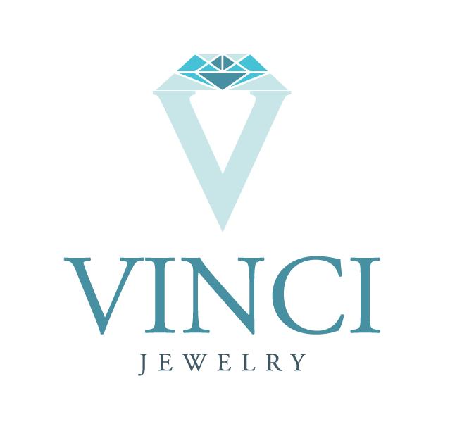 Vinci Jewelry Logo Design by Color Ideas