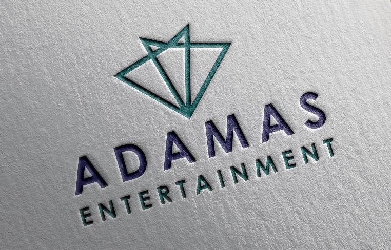 Adamas Entertainment Logo Design by dr ghulam mustafa