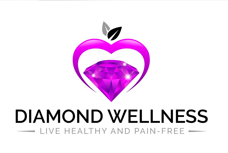 Diamond Wellness Logo Design by FourtuneDesign