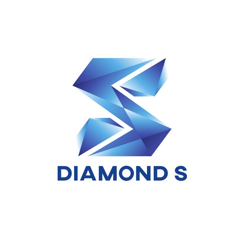 Diamond Letter S Logo Design