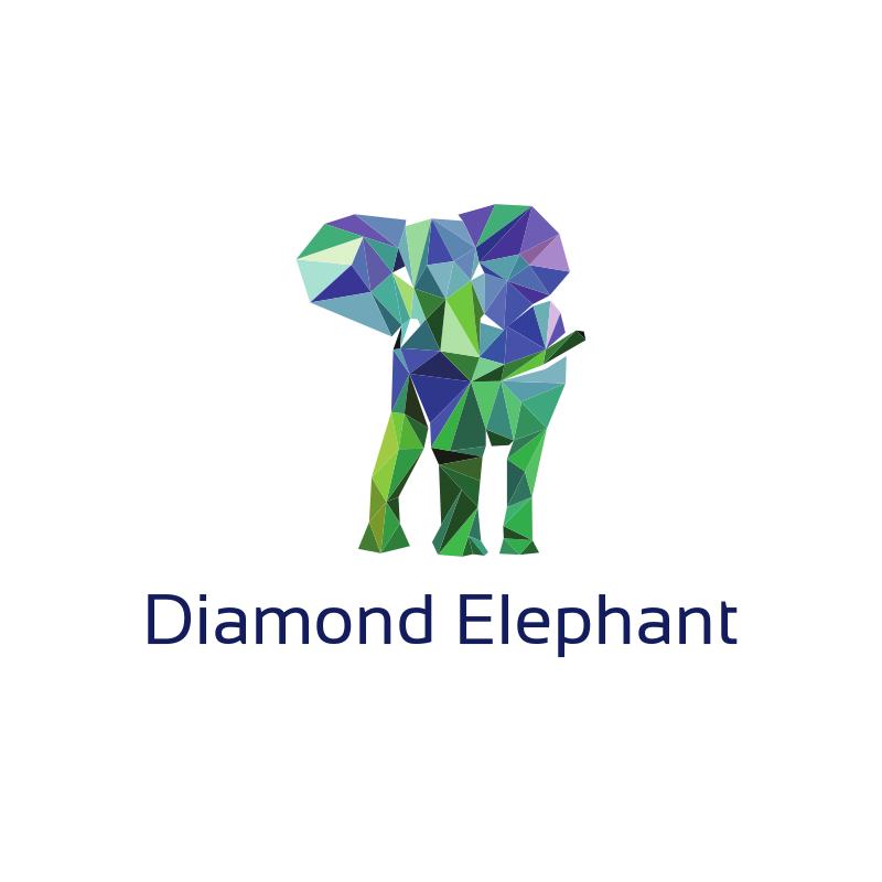 Diamond Elephant Logo Design