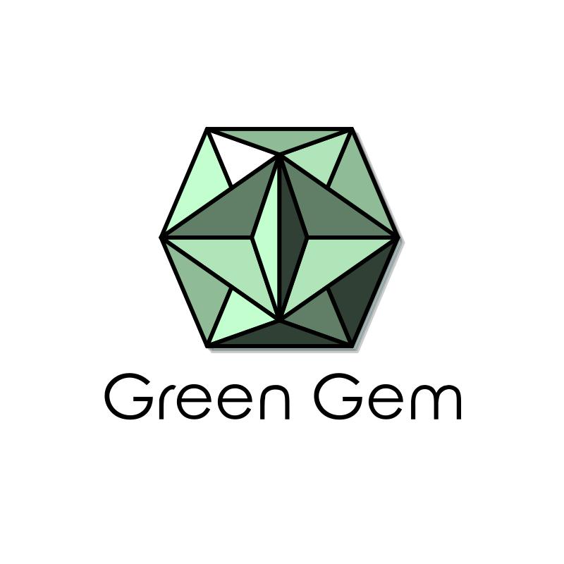 Green Gem Logo Design