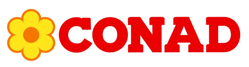 Conad Flower Logo Design