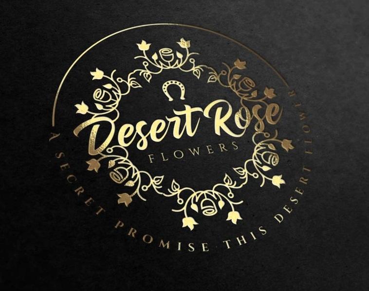 Desert Rose Gift Shop Logo Design by madeli