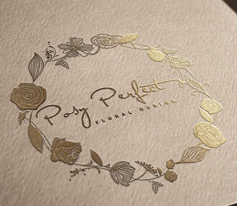 Wreath Logo Design by ChicD