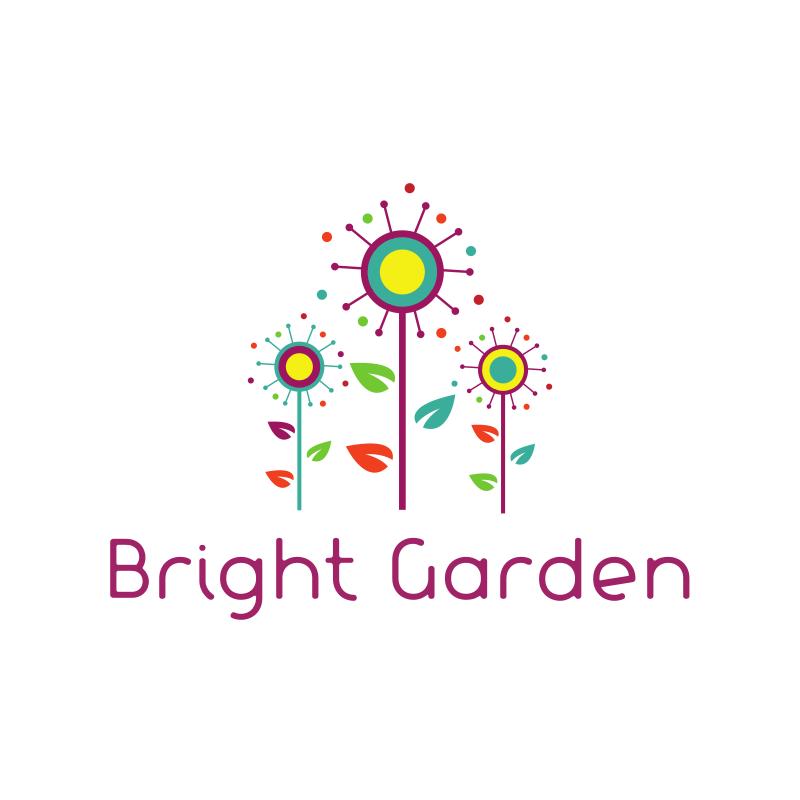 Bright Garden Logo Design