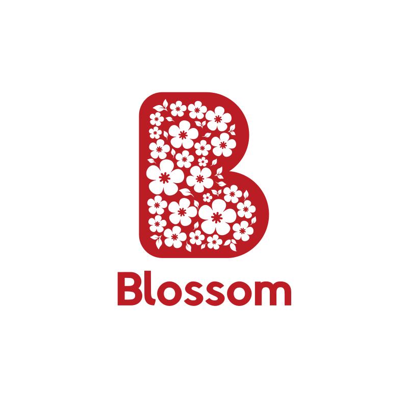Red Blossom Logo Designt