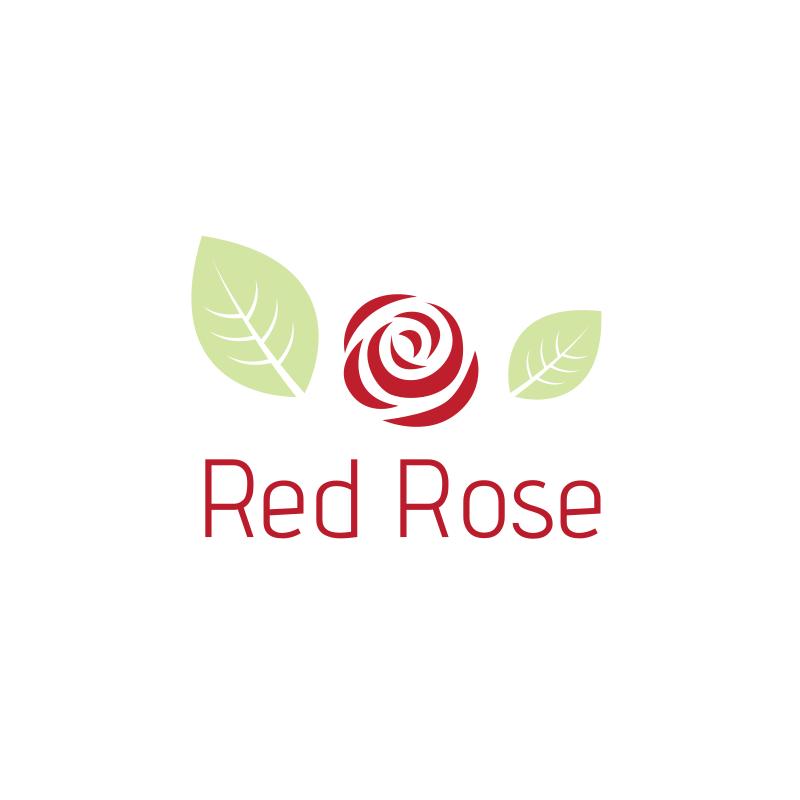 Red Rose Logo Design