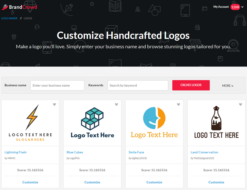 The Best Logo Maker How To Create A Logo Brandcrowd Blog