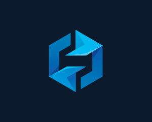 Cube Logo Design by Ions