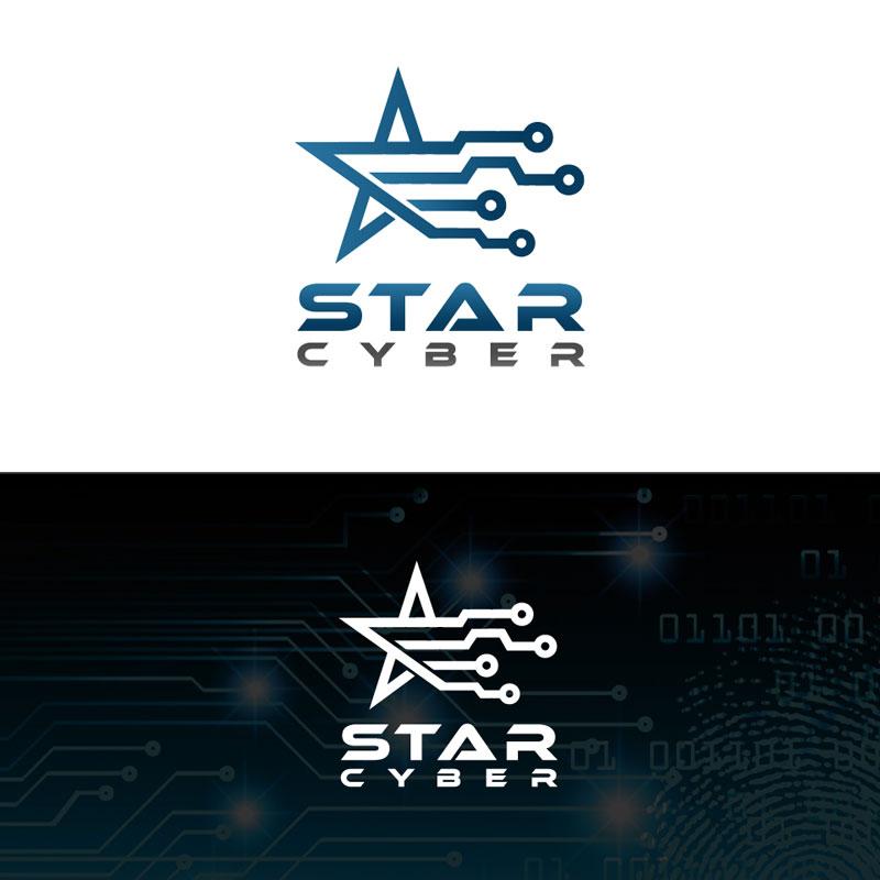 Cyber Logo Design by Pnazma
