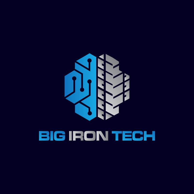Iron Logo Design by Jackreacher