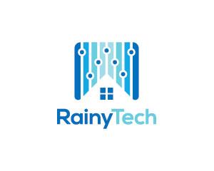 Rain Logo Design by Simplepixelsl