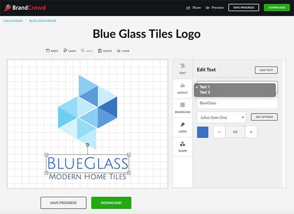 How To Get A Modern Logo Be A Big Brand Brandcrowd Blog