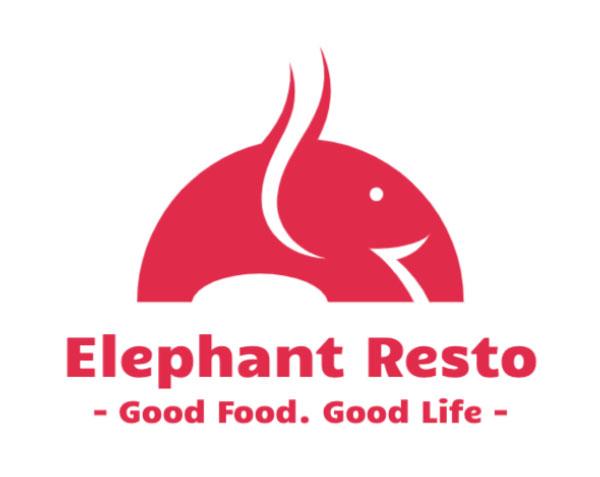 Elephant Logo Design by Town