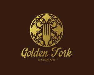 Gold Logo Design by Dalia
