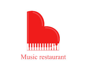 Piano Logo Design by Mekarim