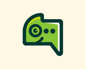 Chameleon Logo Design by Ions