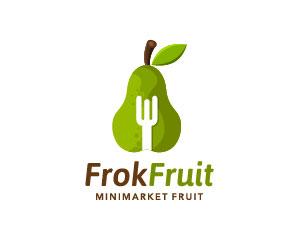 Pear Logo Design by Brandshop