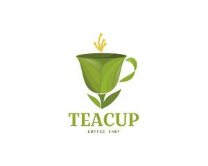 Teacup Logo Design  by Dalia