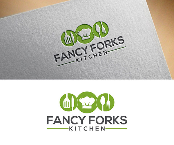 Kitchen Logo Design by Monmon