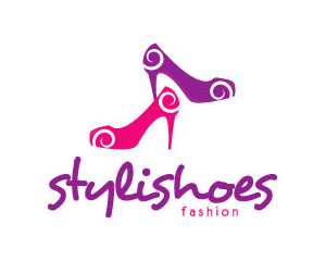 Shoes Logo Design by Moonley