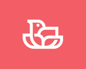 Bird Logo Design by Ions