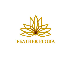 Feather Logo Design by Andchic