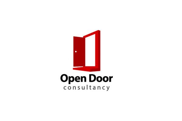 Door Logo Design by Khushigraphics