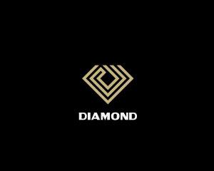 Diamond Logo Design by Monogramer