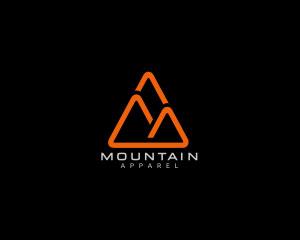 Mountain Logo Design by Danoen