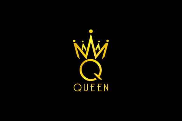 Queen Logo Design by Sapnastudio