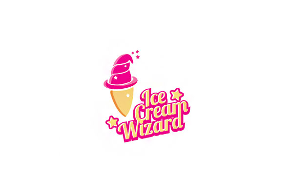 Ice Cream Logo Design by Square69