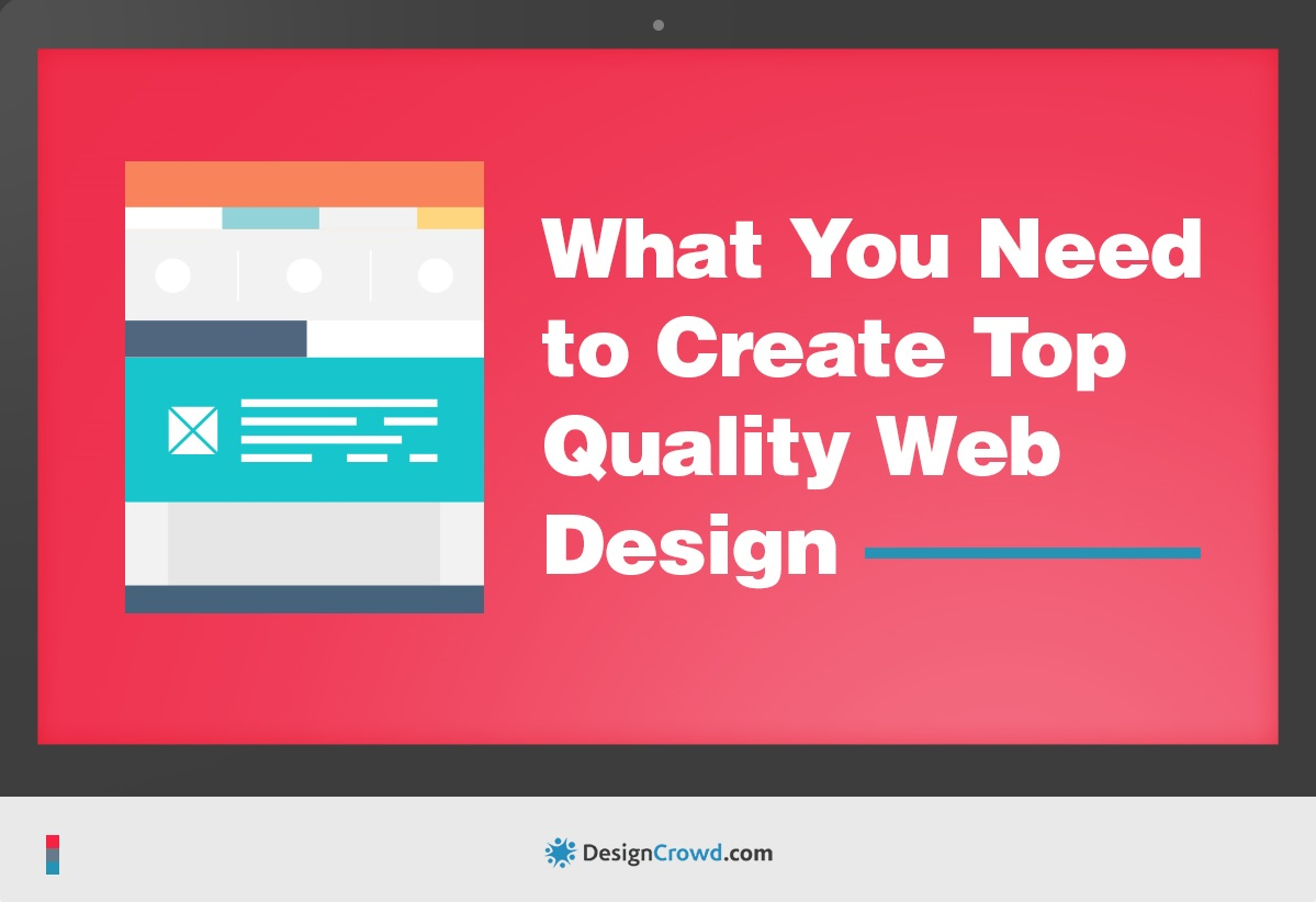 Infographic : What You Need to Create Top Quality Web Design