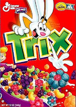 Trix Logo - Top Companies Using a Rabbit in a Logo - BrandCrowd Blog